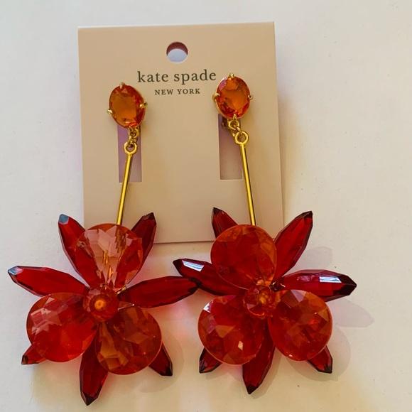 Kate Spade statement earrings